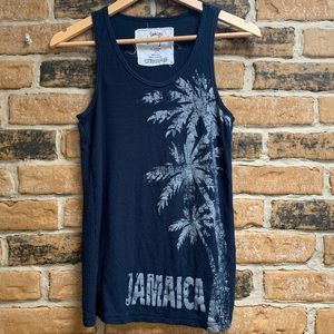 Sunkissed Jamaica Ribbed Tank Top